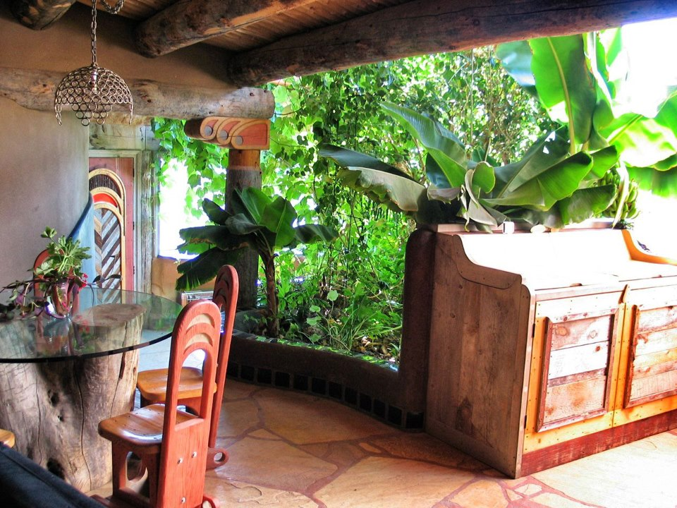 kuchyne s botanickou jednotkou